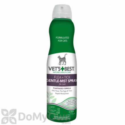 Vets Best Flea and Tick Gentle - Mist Spray for Cats