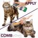 Vets Best Flea and Tick Waterless Bath Foam Dry Shampoo for Cats