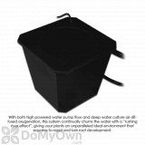 6 - Site Bubble Flow Buckets Hydroponic Grow System