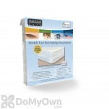 Mattress Safe Stretch Knit Box Spring Encasement - King Plus+