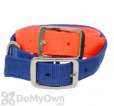 Boss Pet PDQ Double Nylon Hunting Collar 1 in. x 24 in. - Orange