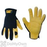 CAT Premium Deerskin Gloves Large