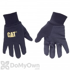 CAT Cotton Jersey PVC Dotted Palm Gloves