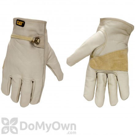 CAT Premium Grain Cowhide Driver Gloves