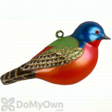 Cobane Painted Bunting Ornament