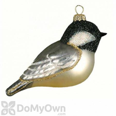 Cobane Black Capped Chickadee Ornament
