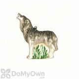 Cobane Howling Timberwolf Ornament