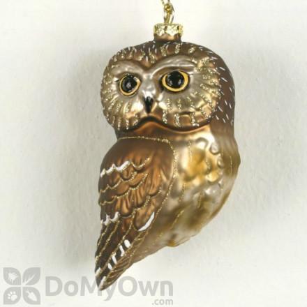 Cobane Northern Saw Whet Owl Ornament