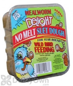 C&S Products Meal Worm Delight Suet Dough 583 - SINGLE