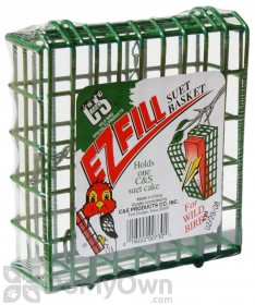 C&S Products EZ Fill Green Color Basket Bird Feeder (730)
