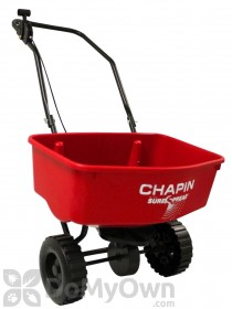 Chapin Residential SureSpread Spreader - 8 in. Poly Wheels 65 lb