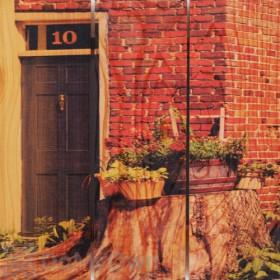 Gizaun Art 10 Inside/Outside Full Color Cedar Wall Art
