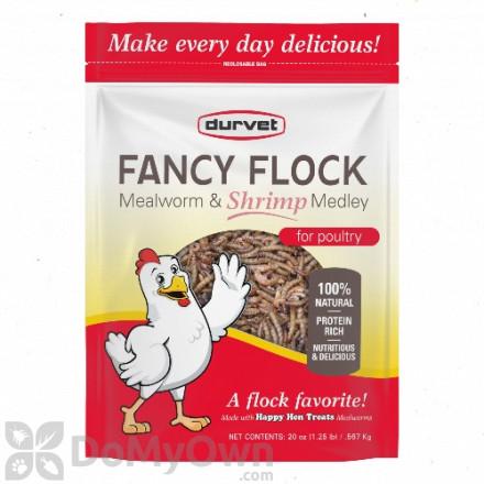 Durvet Fancy Flock Mealworm and Shrimp Medley