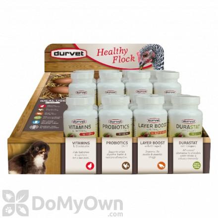 Durvet Healthy Flock Poultry Display