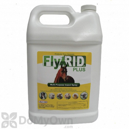 Durvet FlyRID Plus Spray - Gallon