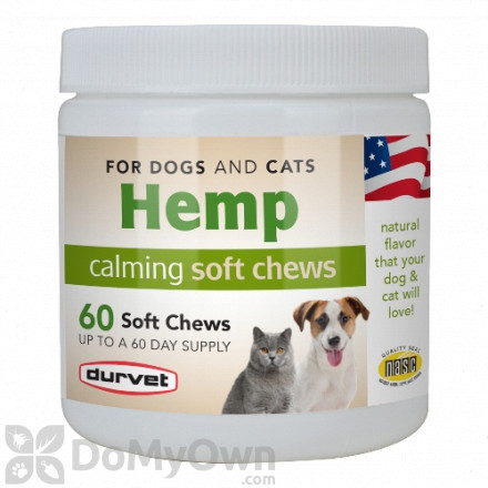 Durvet Hemp Calming Soft Chews