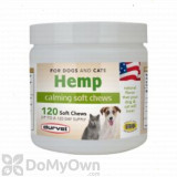 Durvet Hemp Calming Soft Chews - 120 ct