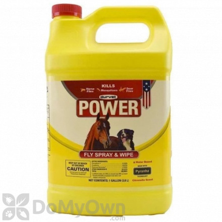 Durvet Power Fly Spray and Wipe - Gallon