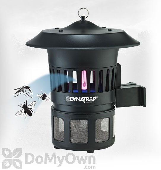 Dynatrap Indoor Outdoor Insect Trap With Optional Wall