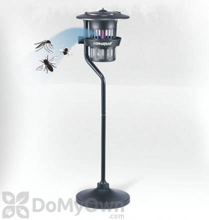 Dynatrap Indoor / Outdoor Insect Trap with Pole Mount and Water Tray (DT1210)