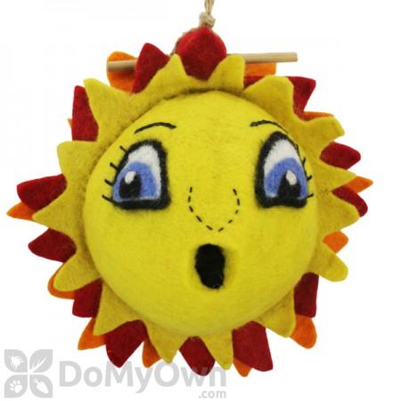 DZI Handmade Designs Sunshine Felt Bird House (DZI484036)