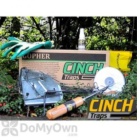 CINCH Traps Gopher Trap Deluxe Kit 3-pack