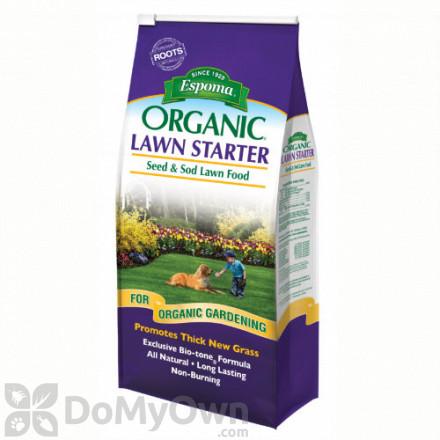 Espoma Organic Lawn Starter 3 - 6 - 3