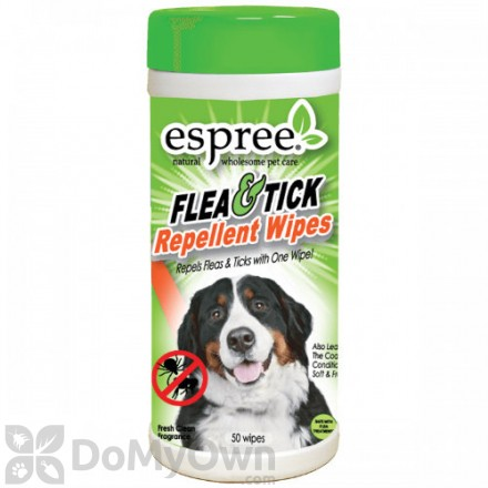 Espree Flea and Tick Repellent Wipes