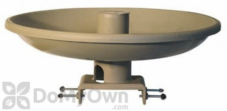 Farm Innovators All Seasons Bird Bath with Deck Mount and Feeder (HBI150)