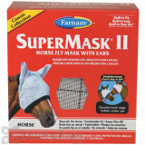 Farnam SuperMask II Horse Fly Mask with Ears - Horse