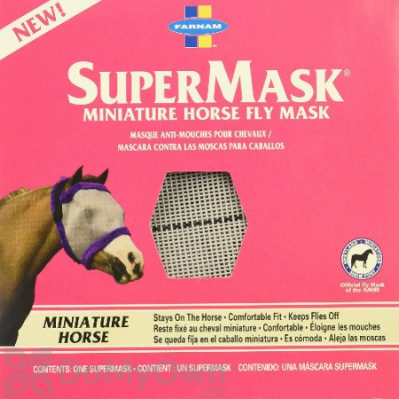 Farnam SuperMask Miniature Horse Fly Mask