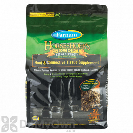 Farnam Horseshoers Secret Extra Strength Hoof and Connective Tissue Supplement for Horses