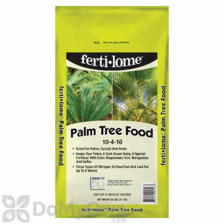 Ferti - lome Palm Tree Food 10 - 4 - 10