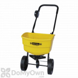 Fertilome Spreader 25 lb. Capacity 8 Plastic Wheels