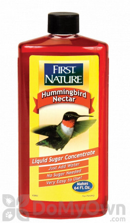 First Nature Red Hummingbird Nectar Concentrate (3050)