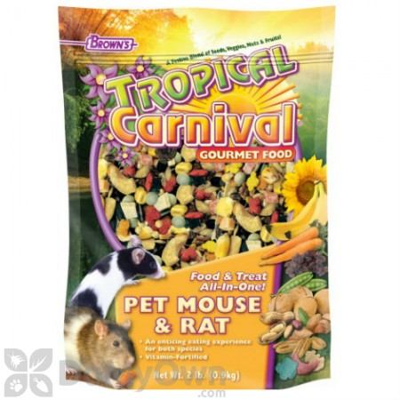 FM Browns Tropical Carnival Gourmet Pet Mouse and Rat Food