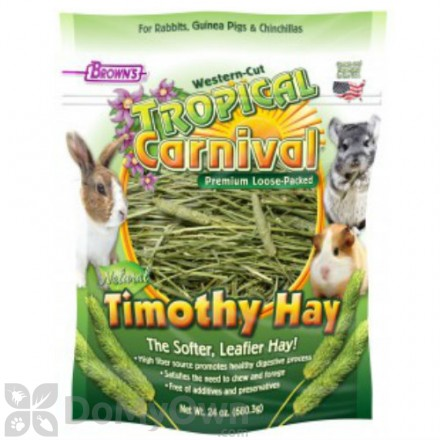 FM Browns Tropical Carnival Natural Timothy Hay