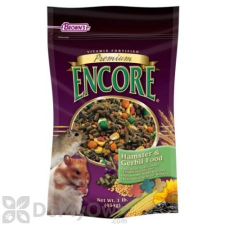 FM Browns Encore Premium Hamster and Gerbil Food