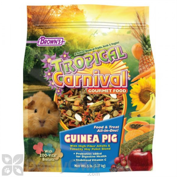 FM Browns Tropical Carnival Gourmet Guinea Pig Food