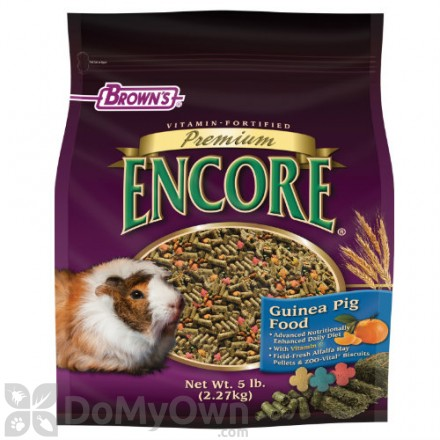 FM Browns Encore Premium Guinea Pig Food