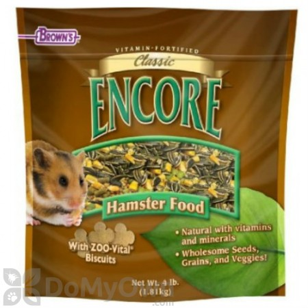 FM Browns Encore Classic Natural Hamster Food