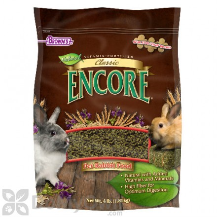 FM Browns Encore Classic Natural Pet Rabbit Food