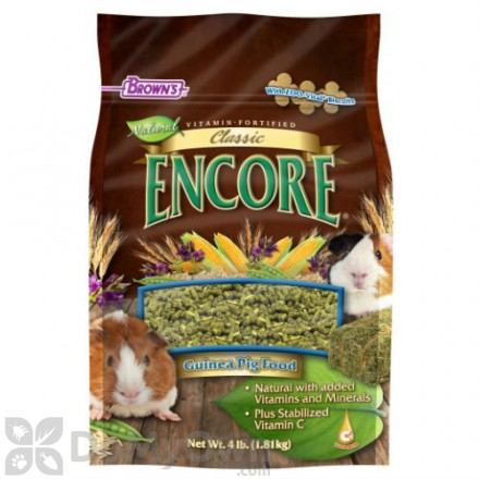 FM Browns Encore Classic Natural Guinea Pig Food