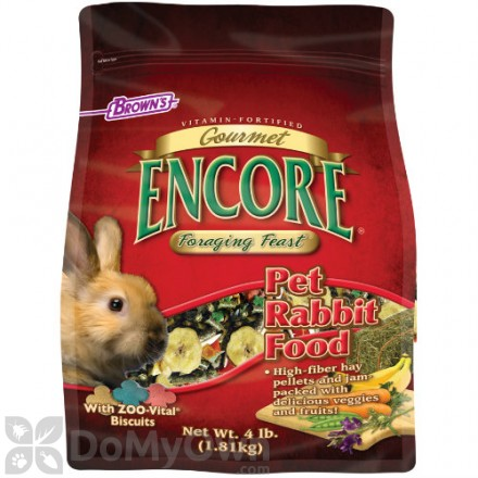 FM Browns Encore Gourmet Foraging Feast Rabbit Food