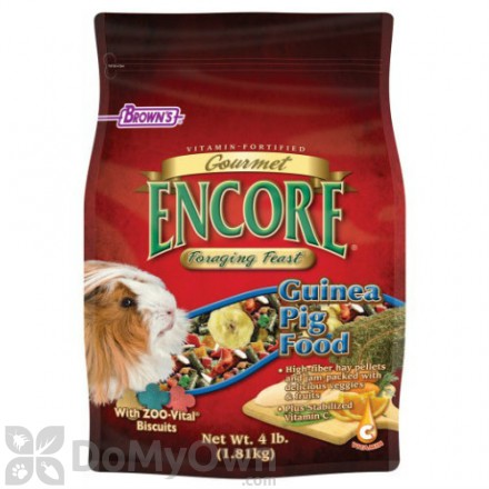 FM Browns Encore Gourmet Foraging Feast Guinea Pig Food