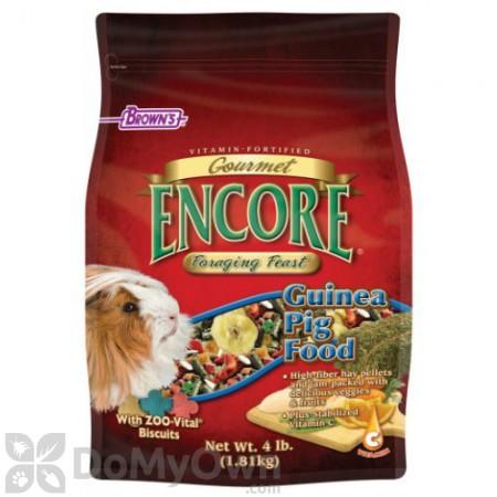 FM Browns Encore Gourmet Foraging Feast Guinea Pig Food