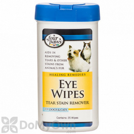 Four Paws Eye Wipes For Dogs and Cats