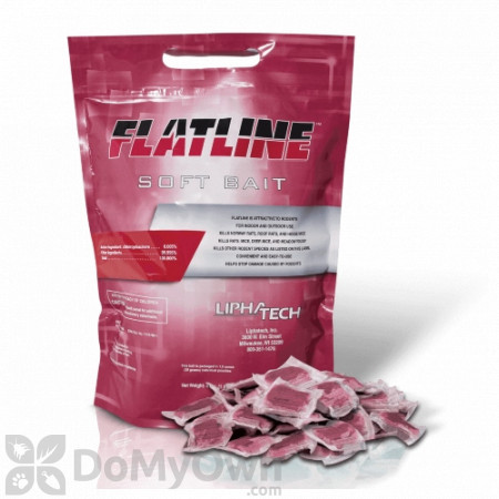 Flatline Soft Bait Rodenticide