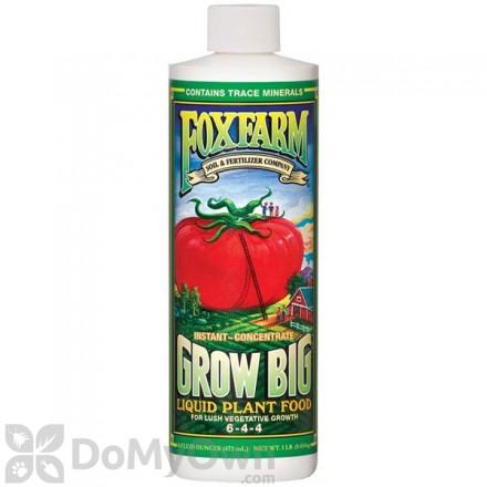 FoxFarm Grow Big Liquid Plant Food 6-4-4