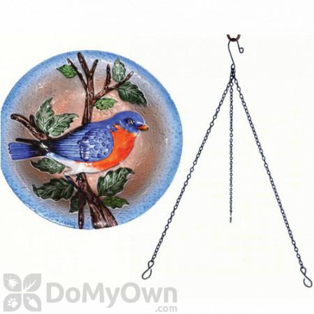 Songbird Essentials Bluebird Hanging Bird Bath